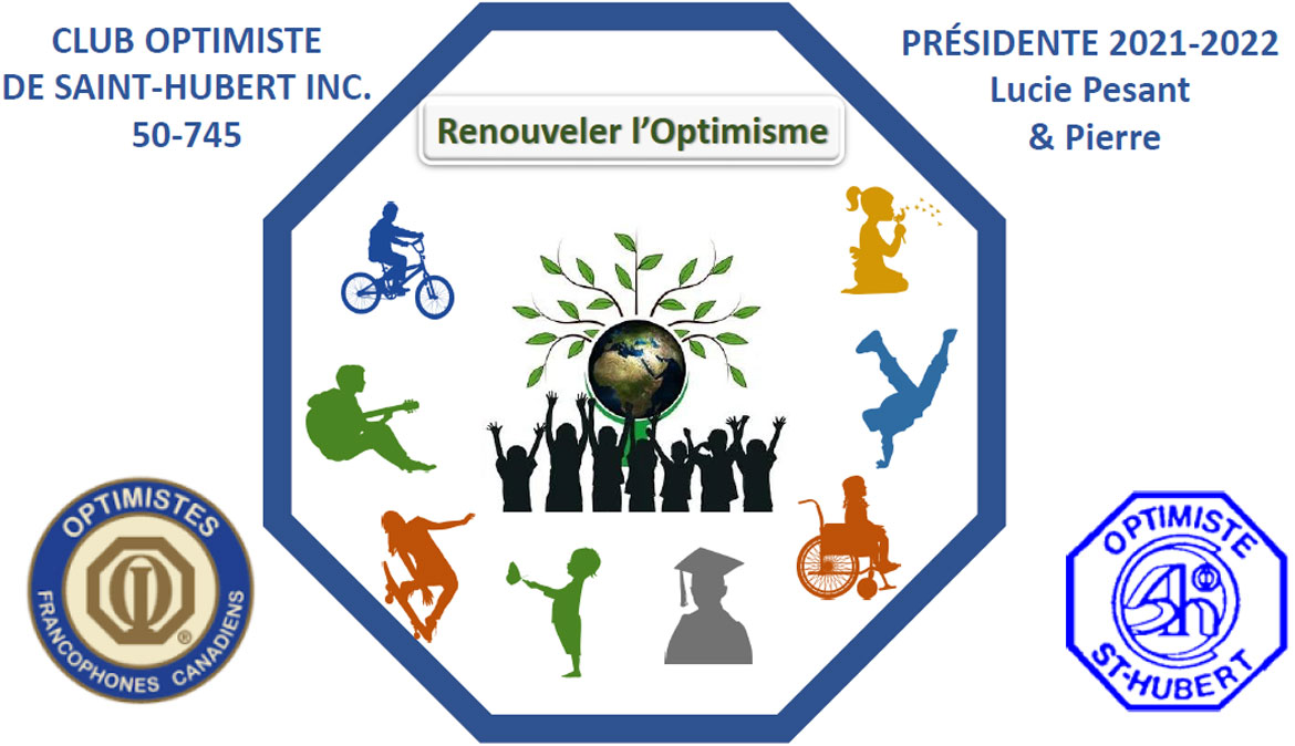 Logo 2016 club optimiste de saint-hubert